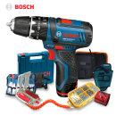 보쉬 충전 전동 해머드릴 GSB10.8-2 LI+7종악세서리