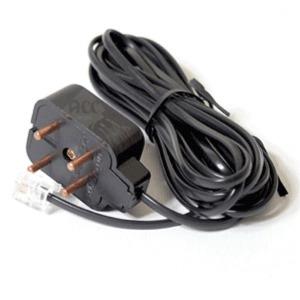 S12470 전화선 사각 케이블 6P2C 9-10M 연장 단자 선