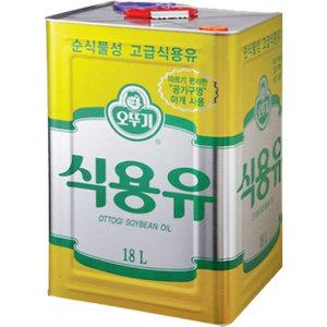 오뚜기 식용유(콩기름) 18L
