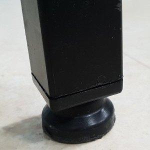 각파이프 파이프캡 다리높이 조절발 정사각