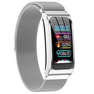 Ak12 스마트 팔찌 컬러 스크린 방수 여성 시계 혈압계