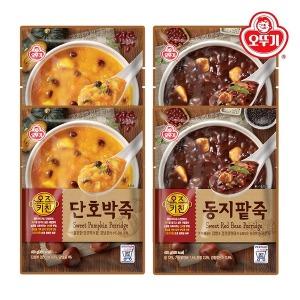 오즈키친 단호박죽 2개+동지팥죽2개