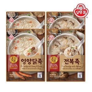 오즈키친 영양닭죽 2개+전복죽2개