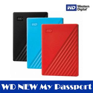 WD NEW My Passport 2TB 블랙 외장하드2테라 안전배송