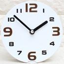 인테리어 탁상 시계 데코100-심플/무음우드디자인소품