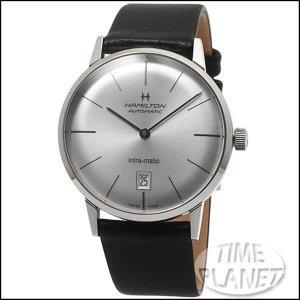 타임플래닛 해밀턴 H38455751 HAMILTON 가죽밴드 시계