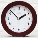 인테리어 무소음 탁상 시계 우드100B/무음 디자인소품