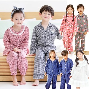 국산 아동 유아 겨울 잠옷 실내복 파자마 긴팔 아기