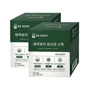 닥터루트 새싹보리분말 유산균 스틱 30포 2박스