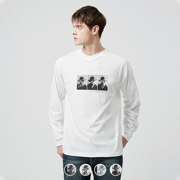 099902 포토 프린트 긴팔 티셔츠(30수)