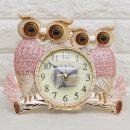 커플부엉이TP 탁상 인테리어시계/결혼선물 장식품소품