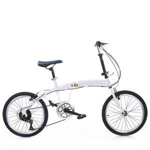 접이식자전거 20인치 6단 미니벨로  휴대용자전거