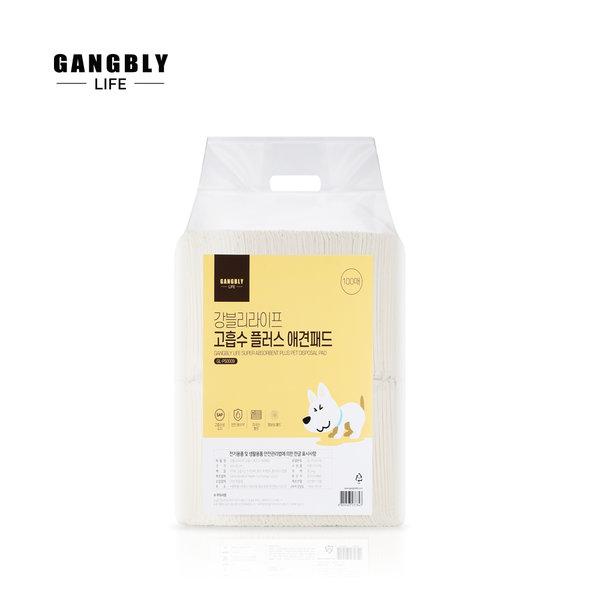 강블리라이프 고흡수 플러스 애견패드 20g 100매