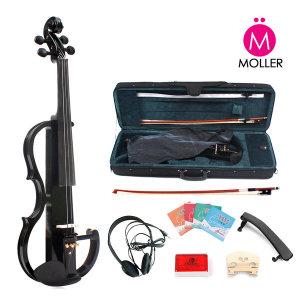 전자 바이올린 풀세트 블랙 입문용 연습용 케이스포함