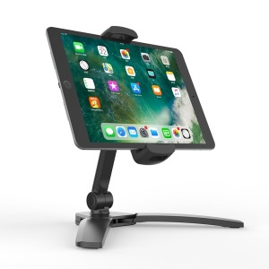 접이식 태블릿 거치대 벽걸이 및 휴대 가능