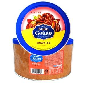 (롯데제과)본젤라또프리미엄초코아이스크림5리터