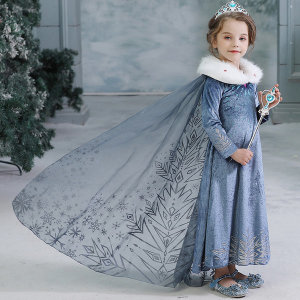 겨울왕국2 엘사 드레스 원피스 망토 엘사옷 코스튬