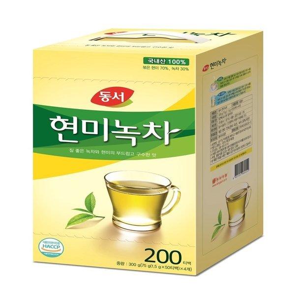 (행사상품)동서식품_현미녹차_200T 300G
