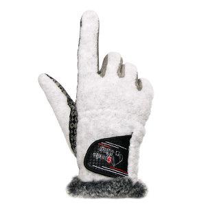 여성 겨울 골프장갑 손바닥실리콘처리 방한 양손
