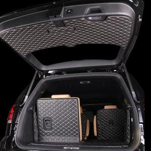 KHAN칸 모하비 더마스터 6인승 카본 퀼팅 트렁크매트