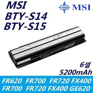 MSI BTYS14 BTY-S15 BTY-S14 GE60 GP60 노트북 배터리