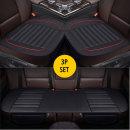 베이스타공 인조가죽 3p 방석세트 사계절 자동차 방석