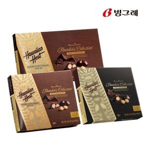 하와이안호스트 다크/마카다미아넛트 초콜릿 1+1+1(3) - 상품 이미지
