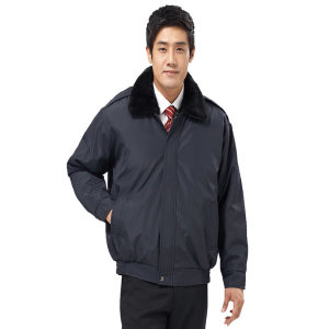 HR-409 남성 추동 경찰점퍼 블랙 근무복 작업복 유니
