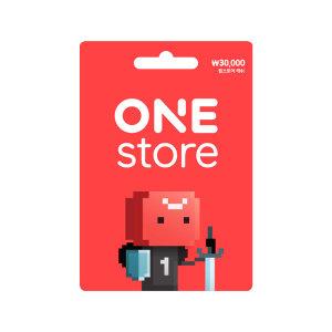 (카드가능)(원스토어) 기프트카드 3만원권