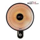 벽걸이히터 전기히터 전기난로 히터 난로 1012H(블랙)