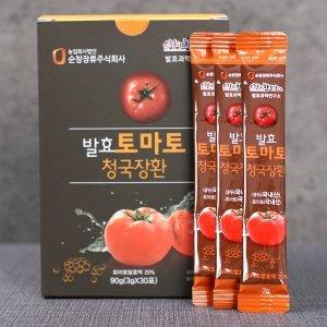 순창장류  발효토마토 청국장환 90g x 3개 (90포)