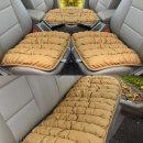 리무진 인조가죽 3p 방석세트 사계절 자동차 방석