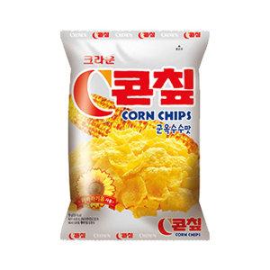 크라운 콘�� 70g/간식/사무실/콘칩/옥수수