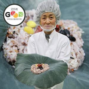 굿뜨래 연잎밥 영양밥 180gx5개 연잎향