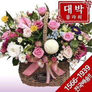 제시카 꽃바구니 생일 기념일 출산 병문안 꽃배달