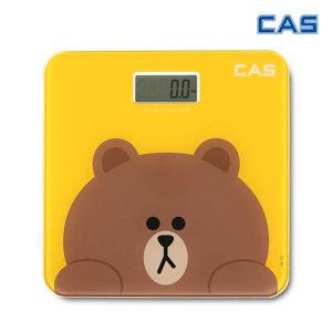 CAS 카스 라인프렌즈 디지털체중계 다이어트 무게측정