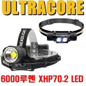 RJ-7000 헤드랜턴/XHP70.2 LED 헤드렌턴/낚시 해루질