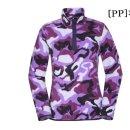 웨스트우드  모다아울렛 웨스트우드 여성 패턴 플리스 집업 티셔츠WJ4WCTS354