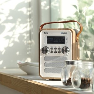 블루투스 라디오 레트로 스피커 휴대용 효도 라디오