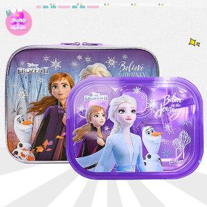 겨울왕국 캐릭터 식판 도시락통 가방 아동 유아 소풍