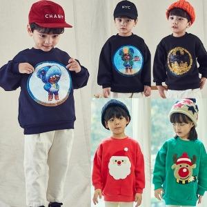 브롤스타즈 엉덩이탐정 레온 산타 크리스마스 옷 티