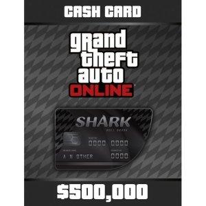 PC GTA5 샤크카드 50만 달러 락스타 24시간 발송
