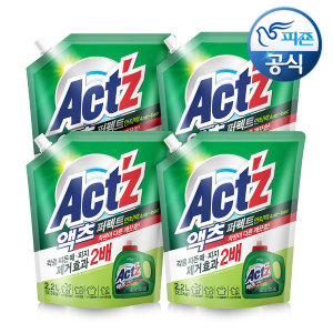 액체세제 퍼펙트 안티박 2.2L 4개