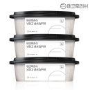 냉장고탈취제 3개 100%천연성분 2년사용 냉동실겸용