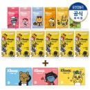 수앤수 카카오 휴대용물티슈 10매36팩 +여행용 50매3팩
