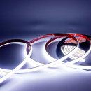 12V COB 슬림면발광 LED바 화이트 10cm당 기본연결발송