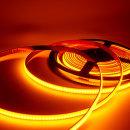 12V COB 슬림면발광 LED바 옐로우 10cm당 기본연결발송