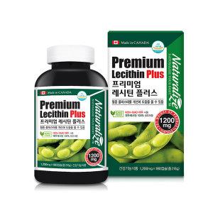 프리미엄 대두레시틴 플러스 180캡슐 1병 식물성 food