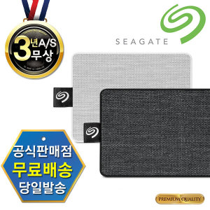 씨게이트 외장SSD One Touch SSD +Rescue 1TB 블랙