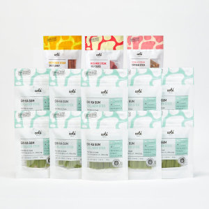 치카껌 콜라겐스틱 피부모질x 10팩+간식3종 /기능성